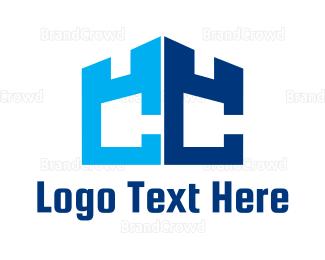 Double - Double C Castle logo design