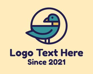 Duck - Duck Bird Farm logo design