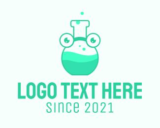 Chemist - Medical Chemist Mascot logo design