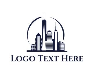 Nyc - Modern City logo design