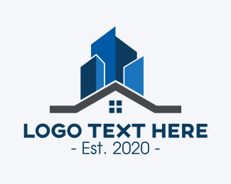 Property Builder - Home Residential Property logo design