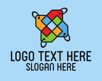 Hangtag - Colorful Price Tags logo design