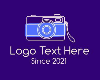 Photograph - Minimalist Photographer logo design