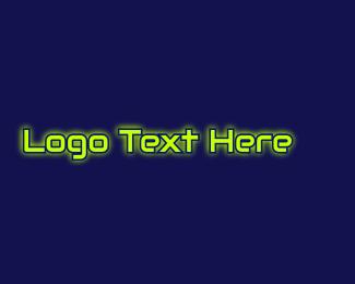 """""""Automotive Glow Text"""" by BrandCrowd"""