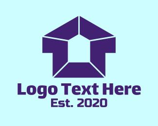 Pentagon - Simple Housing Pentagon logo design