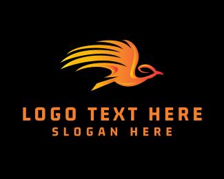 Flying - Flying Phoenix logo design