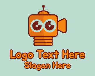 Robotics - Robot Camera logo design