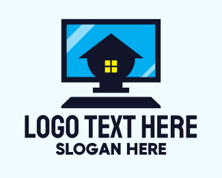 Workplace - Home Personal Computer logo design