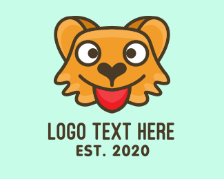 Wink - Cute Brown Bear logo design