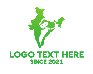 Culture - Female Indian Culture logo design
