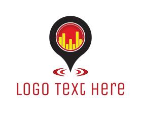 Locator - Bar Locator logo design
