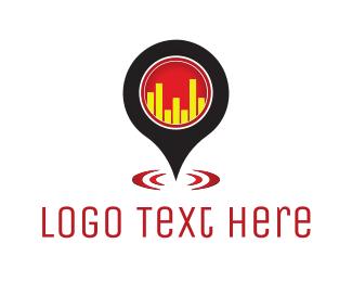 Music Producer - Bar Locator logo design