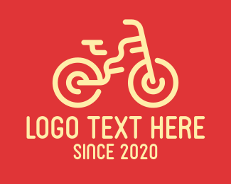 Mtb - Simple Bike logo design