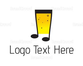 Tune - Musical Beer logo design