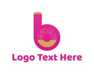 Sweet Letter B Logo