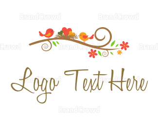 Diy - Happy Little Nest logo design