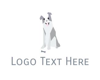 Nice - Friendly Dog logo design