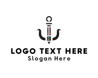 Sushi - Sushi Anchor logo design