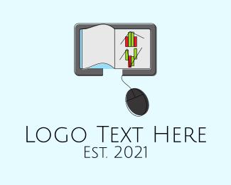 Online Learning - Online Learning Ebook logo design