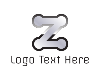 Cookware - Metallic Letter Z logo design
