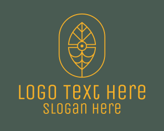 Abstract - Abstract Leaf Eye logo design
