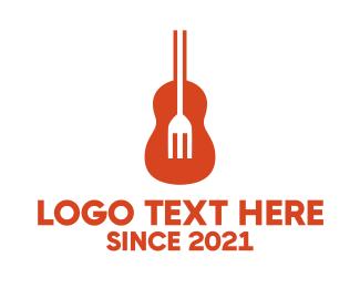 Soul - Guitar Fork logo design
