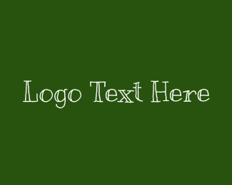 Lesson - Chalk Wordmark logo design