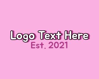 Text - Children Fun Wordmark logo design