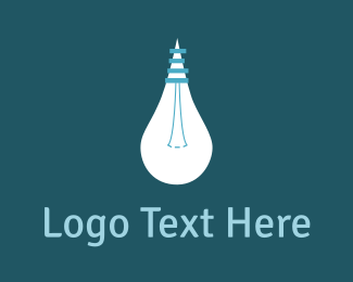Website - White Bulb Idea logo design
