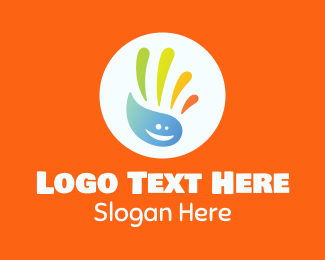 Sanitary - Multicolor Hand Washing Liquid logo design