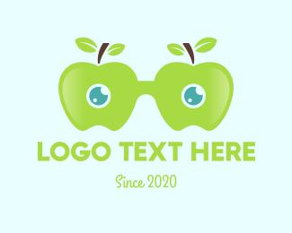 Eyeglasses - Apple Eyeglasses logo design
