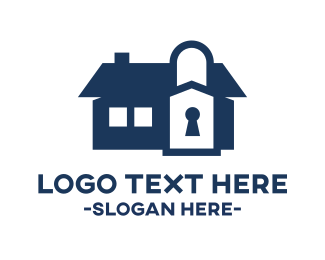 Home Insurance - Home Security logo design