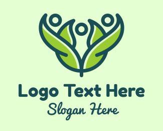 Pea - Green Environmental Group logo design