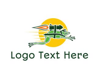 Rocket Frog Logo