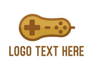 Game Developer - Gaming Peanut logo design