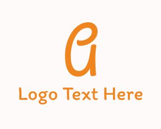Act - Friendly Letter A Font logo design
