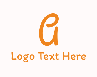 Kindergarten - Friendly Letter A logo design