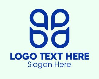 Fp - Blue ABPD Monogram  logo design
