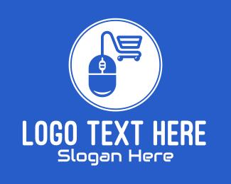 Purchase - Computer Mouse Shopping Cart logo design