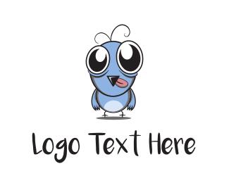 Claw - Cute Bird logo design