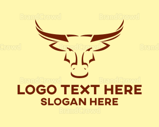 Buffalo - Orange Buffalo logo design