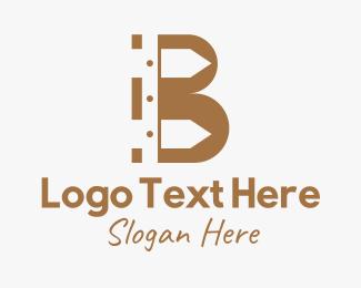 Fence - Fence Letter B logo design