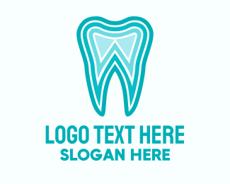 Oral Health - Blue Tooth Dentist logo design