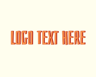 Tan - Tropical & Orange logo design