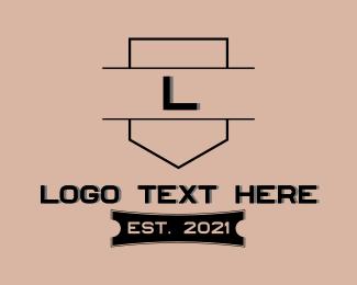 Architecture - Architecture Contractor Letter logo design