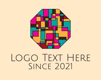 Octagon - Octagon Mosaic Art logo design