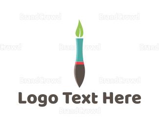 Eco-friendly - Eco Pen logo design