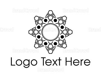 Beautify - Geometric Star logo design