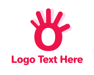 Greeting - Hand Letter O logo design