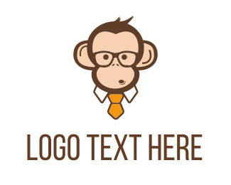Geek - Monkey Business  logo design